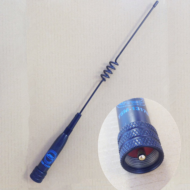 Оригинальный тай ван беспроводной семья TSM-1317 высокое Gain144 / 430 мГц UHF VHF мобильный супер антенна для автомобилей для основной радио