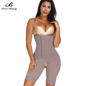 Image 1 - Lover Beauty Body Shaper Fajas Slimming Waist shaper Modeling Belt Thigh Reducer Tummy Control butt lifter Push Up Shapewear