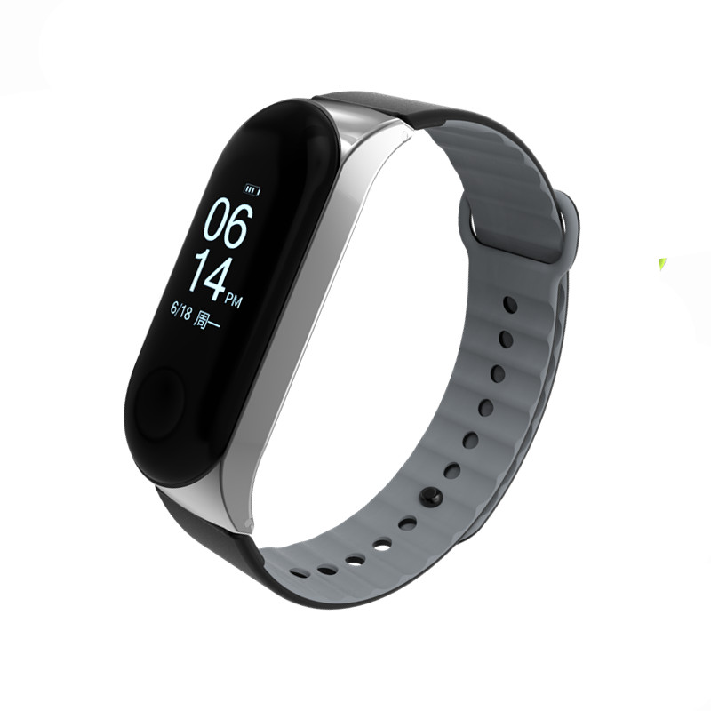 Mi Band 3 Strap wrist strap sport Silicone mi band3 for xiaomi Mi band smart watch bracelet for Xiaomi mi band 3 Bracelet