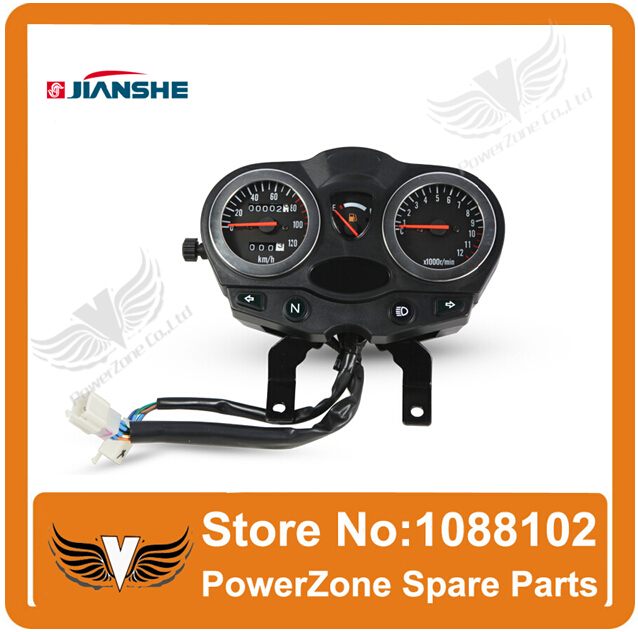 ФОТО JIANSHE 150cc Motorcycle Speedometer Odometer JS150-28A Accessories Free Shipping