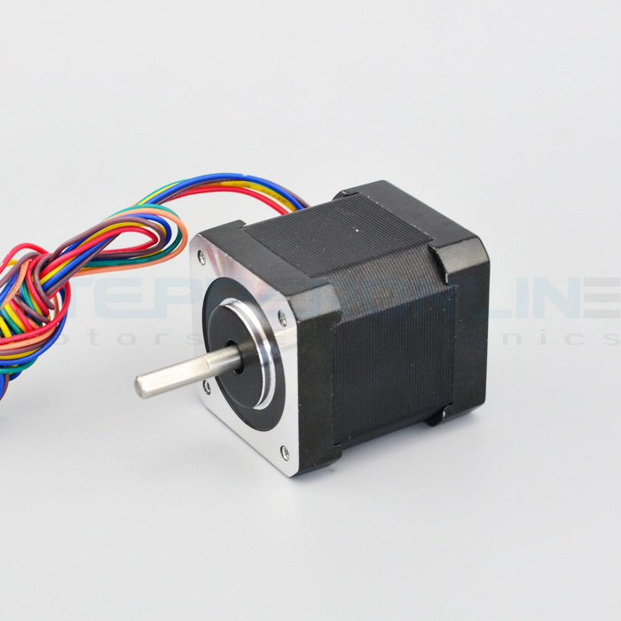 все цены на Nema 17 Unipolar Stepper 12V 0.9 deg 0.4A 32Ncm dual shaft stepper motor high precision motor for 3D Printer Robot D-cut Shaft онлайн