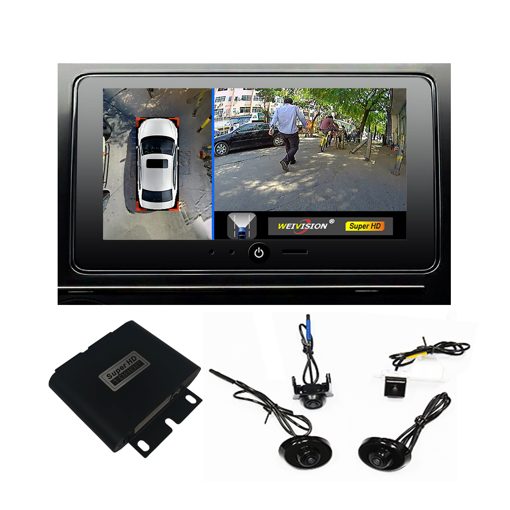 1080P Super HD 360 Bridview Car Monitor System Panoramic View All