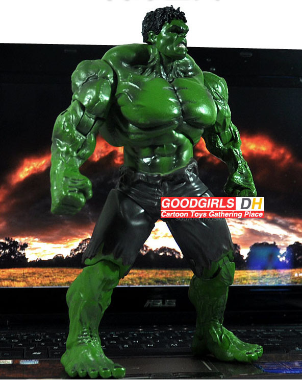 EMS Free Shipping 20pcs//lot New Arrival FS Incredible Green Hulk Movie 10 inches Loose Action Figure Toy HRFG067 друза раухтопаз s