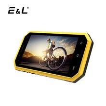 E & L W6 оригинальный Водонепроницаемый пыле ударопрочный телефон Ip68 разблокирована сотовых телефонов 4.5 дюймов android dual sim мобильного телефона 4 г