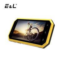 EL W6 Original Phone Ip68 Waterproof Dustproof Shockproof 4.5 Inch Quad-Core 1GB+8GB Android 6.0 Unlocked Touch Mobile Phone 4G