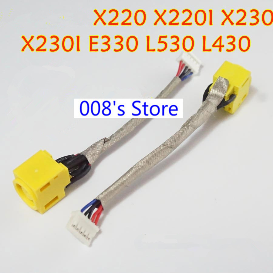 Computer & Office New Laptop For Lenovo X200 X201 X220 X230 E40 E50 E530 E320 E325 X60 X61 X100e X120e Dc Power Jack Plug Socket Connector Cable High Quality