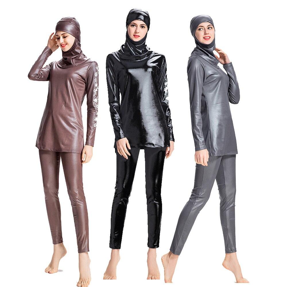 Islamici Musulmani delle donne modesta Bagno Abbigliamento Nuoto burkini
