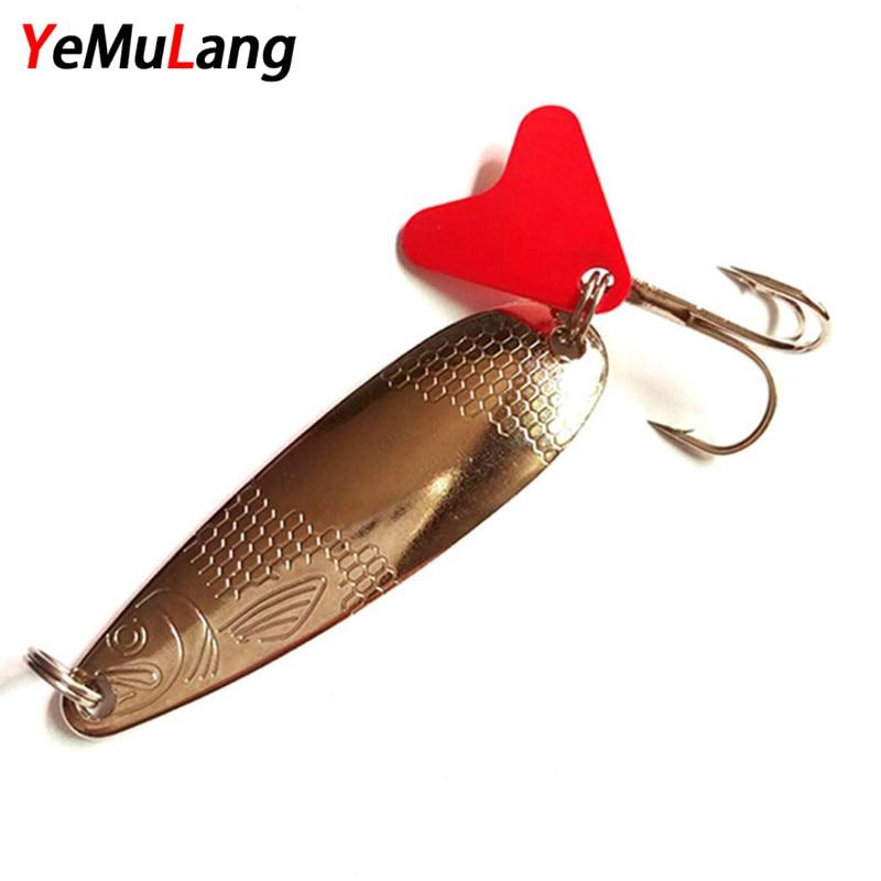 Yemuang المعادن تهزهز الصلب الصيد إغراء 7 - صيد السمك