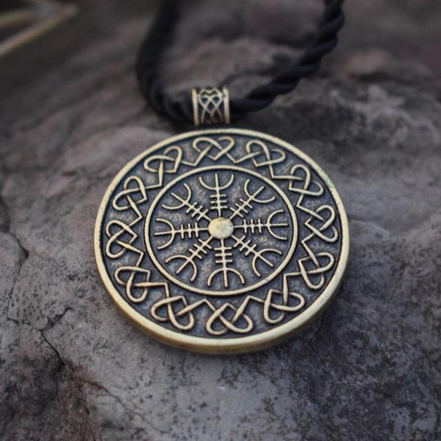 Sanlan helm of awe aegishjalmur vikings icelandic amulet nordic sanlan helm of awe aegishjalmur vikings icelandic amulet nordic runic pendant talisman necklace aloadofball Images