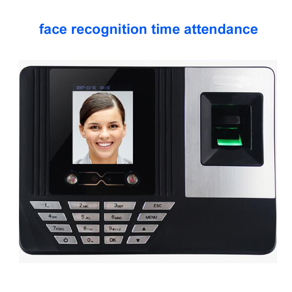 2.8inch TFT Screen Biometric Fingerprint Recognition Face recognition Time Attendance Clock Recorder Employee Digital Electronic [readstar] speak recognition voice recognition module v3 1