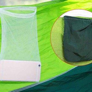 Image 4 - Portatile di Zanzara Netto di Campeggio Amaca Singola Doppia Ultraleggero Paracadute Caccia Amache di Sonno Hanging Bed Mobili Da Giardino