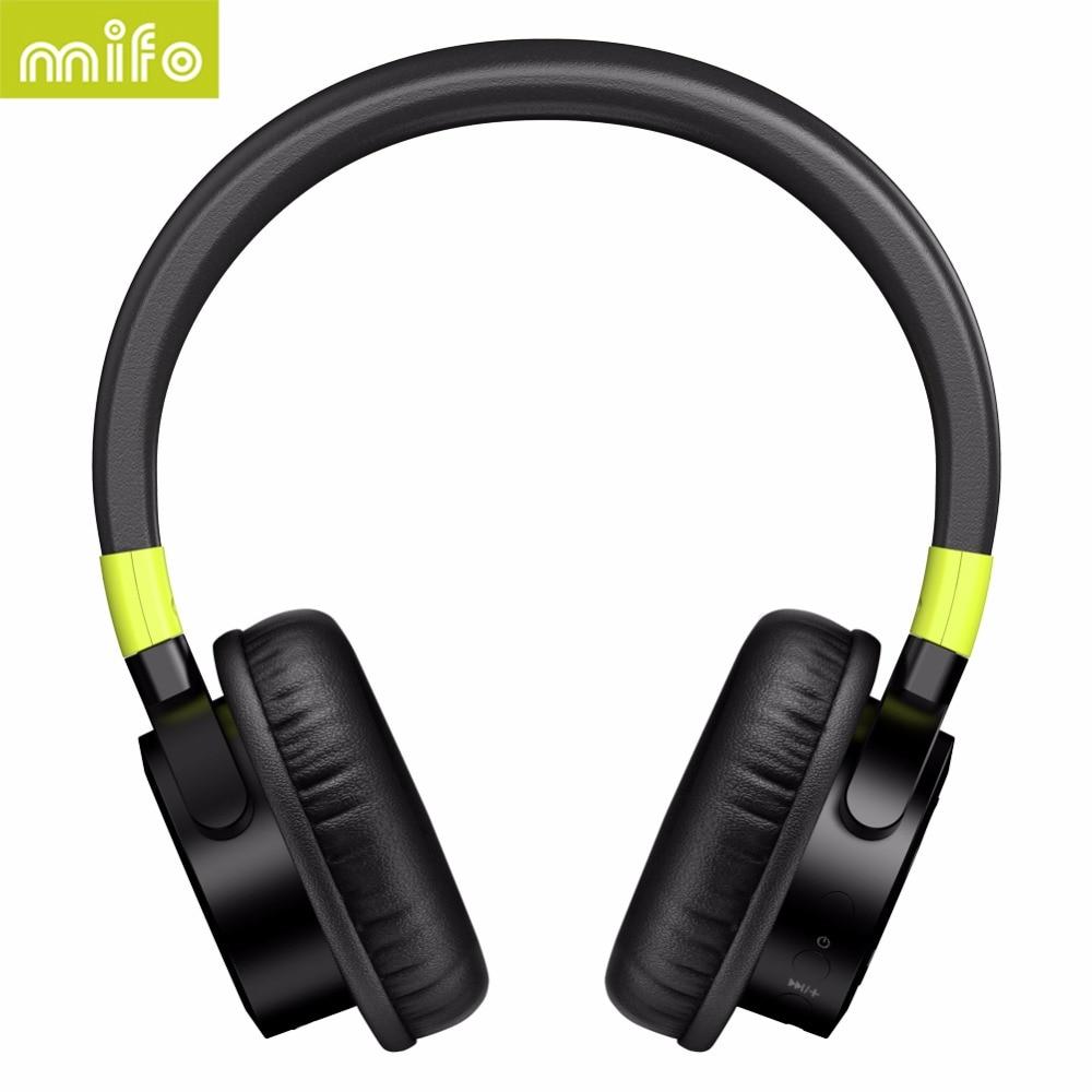 mifo F2 Wireless Bluetooth Headphones 1050mah Stereo Bass Headphone Bluetooth 4.1 Headset With Mic for iphone xiaomi Computer полусапоги geox d745tf 000vi c6372