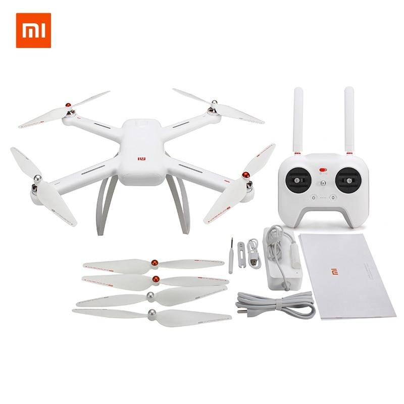 Лидер продаж Оригинал Сяо Mi Drone 4 К версия 30fps WI-FI FPV-системы Камера с 3-осное приложение Управление радиоуправляемый квадрокоптер вертолет RTF