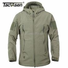 Tacvasen тактическая clothing армия военная ветрозащитный корпус куртки куртка мягкий бренд