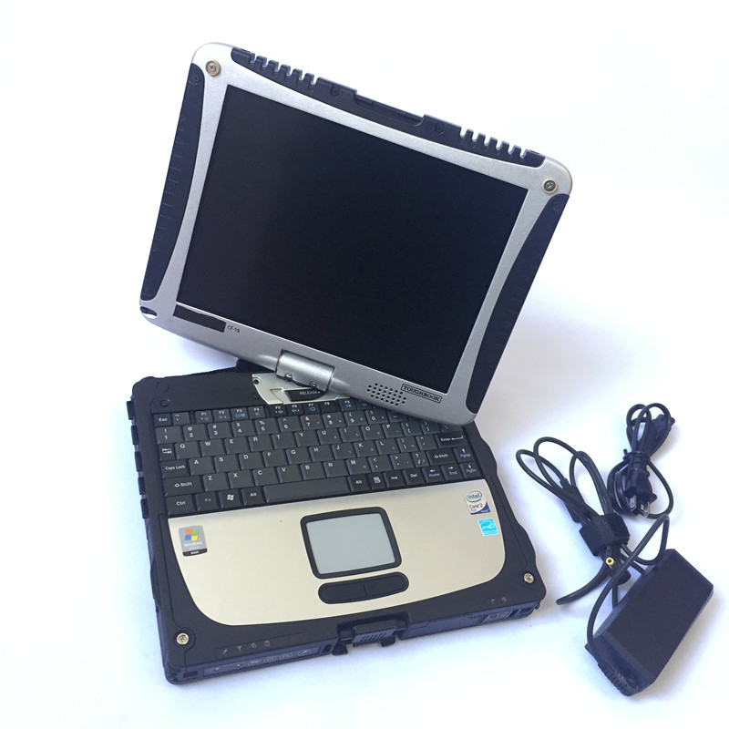 2018 High quality Toughbook CF19 CF-19 laptop Toughbook for Panasonic CF 19 Support work for SD C3 C4 C5 alldata diagnostic tool