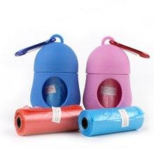 Portable Pet Dog Poop Bag with Dispenser Waste Garbage Holder Dispensers Bags Set Pets Dogs Trash Cleaning Supplies