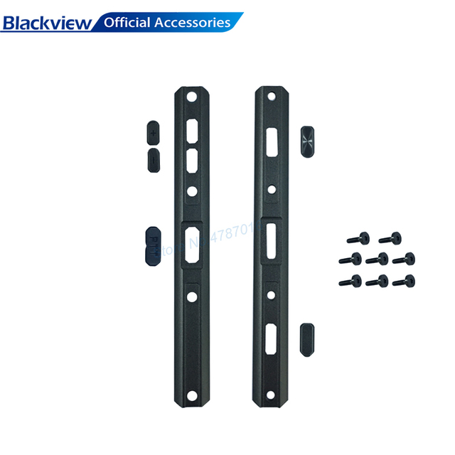 Blackview Original Metal Button BV9500Pro Side Cover totally Metal Case with Button for BV9500