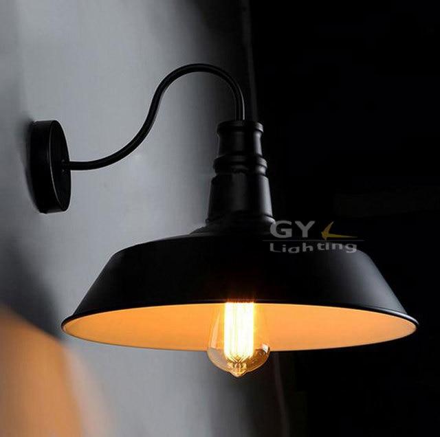 100 240 v klassieke vintage industriële d26cm metalen wandlampen zwart wit licht keuken restaurant moderne muurblakers.jpg 640x640.jpg