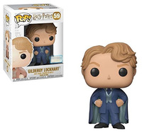Exclusive FUNKO POP Official Harry Potter Gilderoy Lockhart (Blue Suit) #59 Vinyl Action Figure Collectible Model Toy In Stock