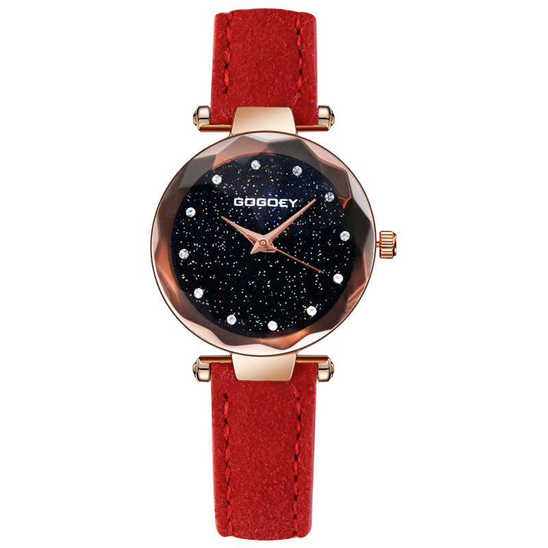 f22051ba202b Gogoey mujeres relojes moda cielo estrellado reloj mujeres relojes para las mujeres  de lujo señoras reloj mujer relogio feminino