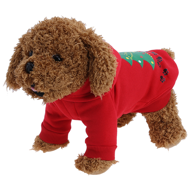s xl christmas dog clothes santa costume pet dog christmas clothes winter coat clothing cute
