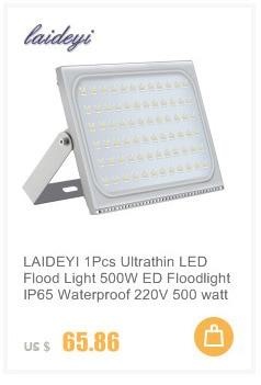 Ultrathin Led Flood Light 30w 100w Ip65 220v Led Spotlight Refletor Outdoor Lighting Wall Lamp Floodlight We Take Customers As Our Gods Lights & Lighting