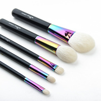 2019 Anmor Goat Hair 5PCS Makeup Brushes Set Powder Eyeshadow Blending Brush High Quality Cosmetic Tools For Makeup Product Top
