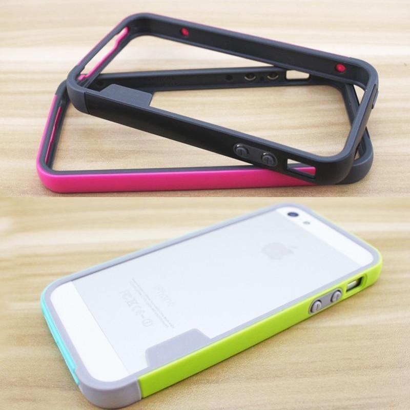 Փափուկ բամպեր iPhone 5s գործի համար TPU - Բջջային հեռախոսի պարագաներ և պահեստամասեր - Լուսանկար 4