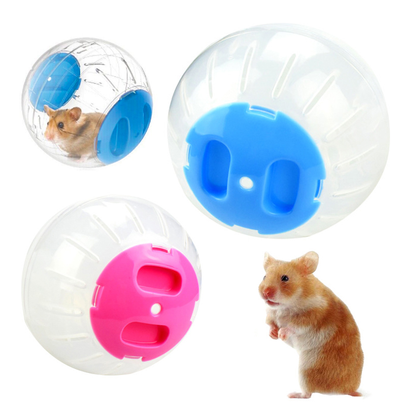 Hot Hamster Toy Running Ball  Without Bracket Plastic Fit For Small Pets Toy Clear Ball Small Pets Product