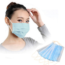 50 PCS Anti-dust Disposable Earloop Face Mask Filters Bacteria proof Breathable Beauty G6622