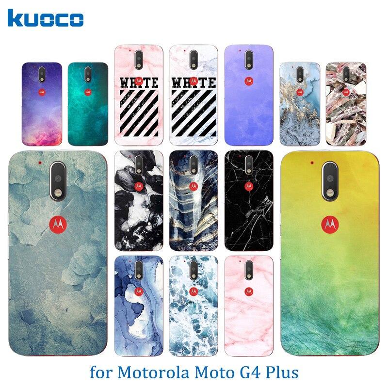 Для Motorola Moto G4 Plus Цвет камень шаблон Мягкие силиконовые ТПУ Телефонные Чехлы для Moto G4/G4 Plus g 4rd поколения задняя крышка
