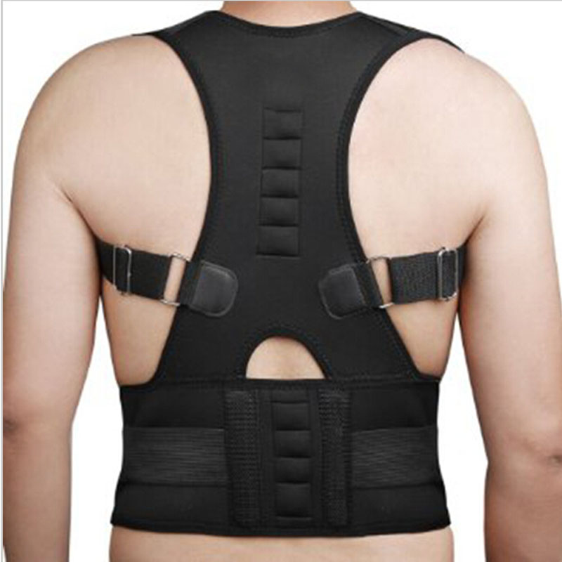 Women Braces & Supports Belt Shoulder Back Support Belt for Men Shoulder Posture Magnetic Therapy Posture Corrector Brace