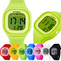 Novel Design 1PC Silicone LED Light Digital Sport Wrist Watch Kid Women Girl Men Boy May27 Dropshipping