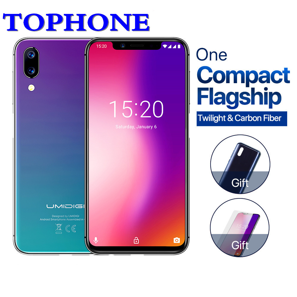 2018 Mondial Version 19:9 5.9 FHD Android 8.1 Visage ID mobile téléphone RAM 4 gb ROM 32 gb MTK6763 octa Core 12MP 4g LTE smartphone