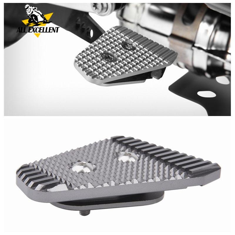 For BMW Foot Brake Pedal Enlarge Aluminum Pedal Extension Pad For F750GS F850GS G310GS G310R  R Nine T R9T Scrambler Urban G/S