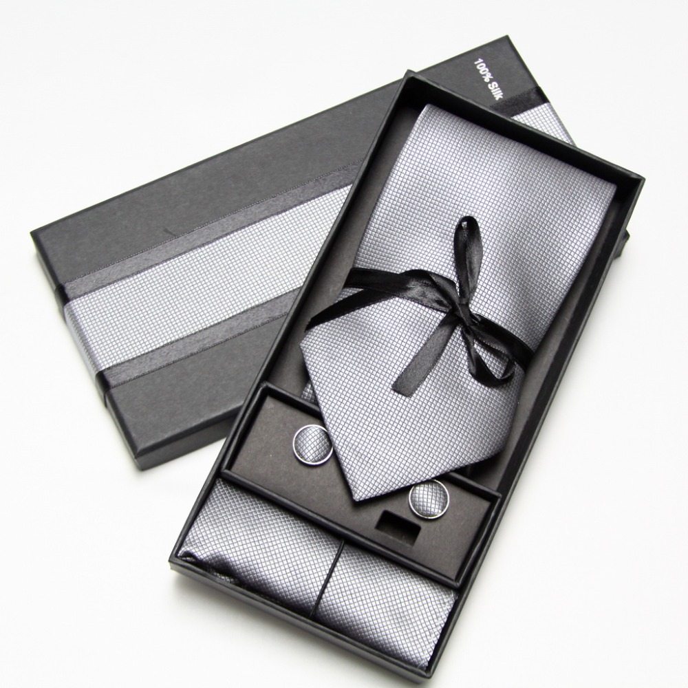 best top a set in a box men tie list and get free shipping - a589