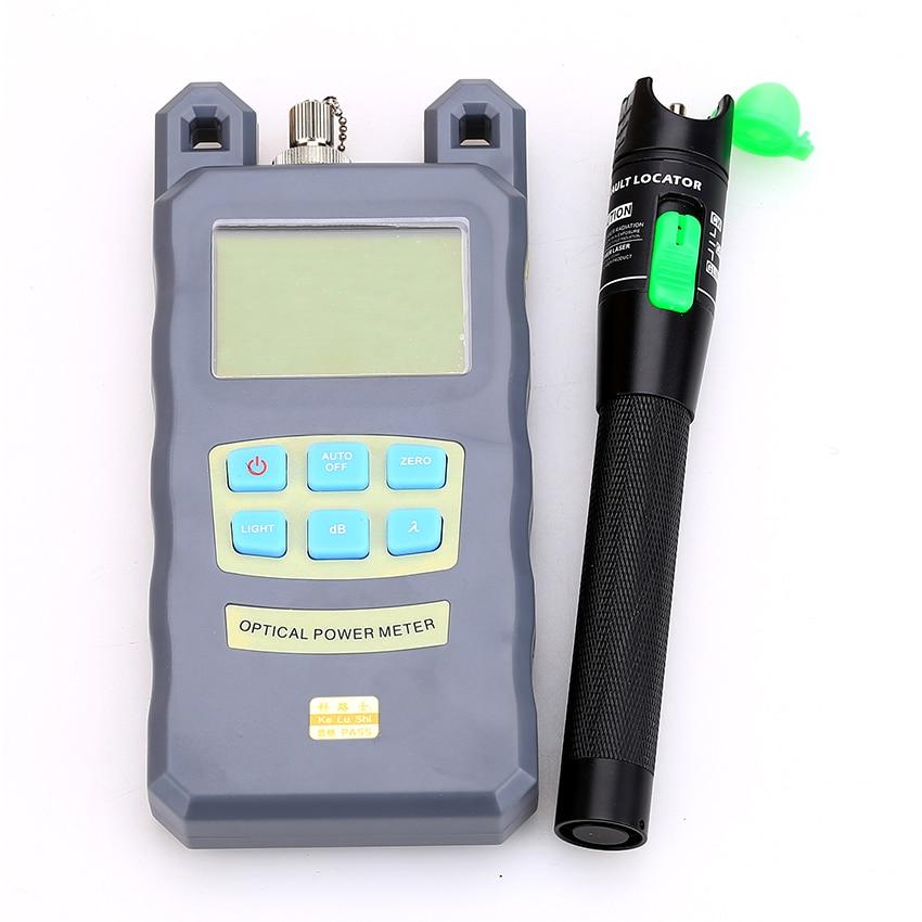 Ręczny miernik mocy światłowodu -70dBm ~ + 10dBm Moc światłowodu - Sprzęt komunikacyjny - Zdjęcie 2