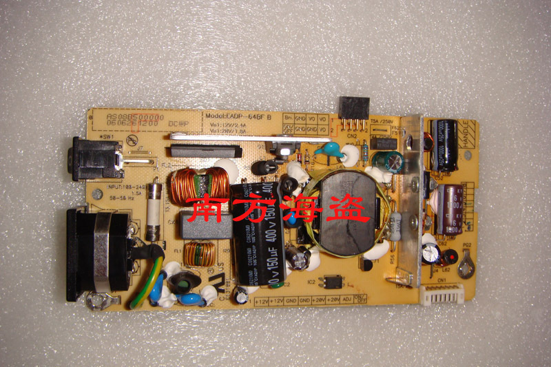 Free Shipping> VP2030b original power board VP2130b Power Board EADP-64BF B-100% Tested Working free shipping 1940wcxm power board l195h0 nw999 vp 931 original 100% tested working