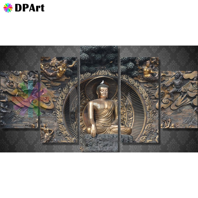 Diamond Painting Full Square Round Drill Buddha Religion Rhinoceros 5D Daimond Embroidery Painting Rhinestone Cross Stitch