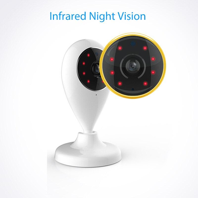 Moniteur de caméra sans fil avec Audio bidirectionnel numérique LCD écran Vision nocturne caméra professionnelle TUYA caméra vidéo intelligente