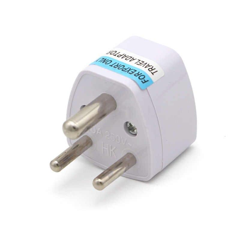 1PC 3 pin uniwersalne UK/US/ue/AU do małych republika południowej afryki wtyczka indie adapter podróżny adapter AC mocy wielu Outlet gniazdo adaptera