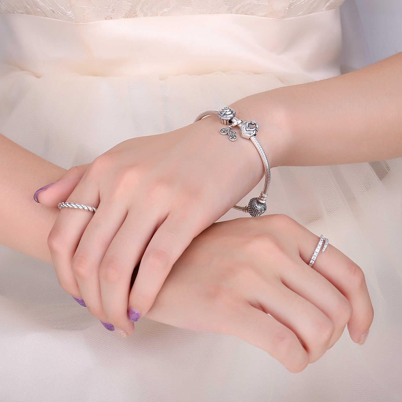 JewelryPalace 忠実な愛 925 スターリングシルバービーズチャームシルバー 925 オリジナルブレスレットシルバー 925 オリジナルジュエリーメイキング