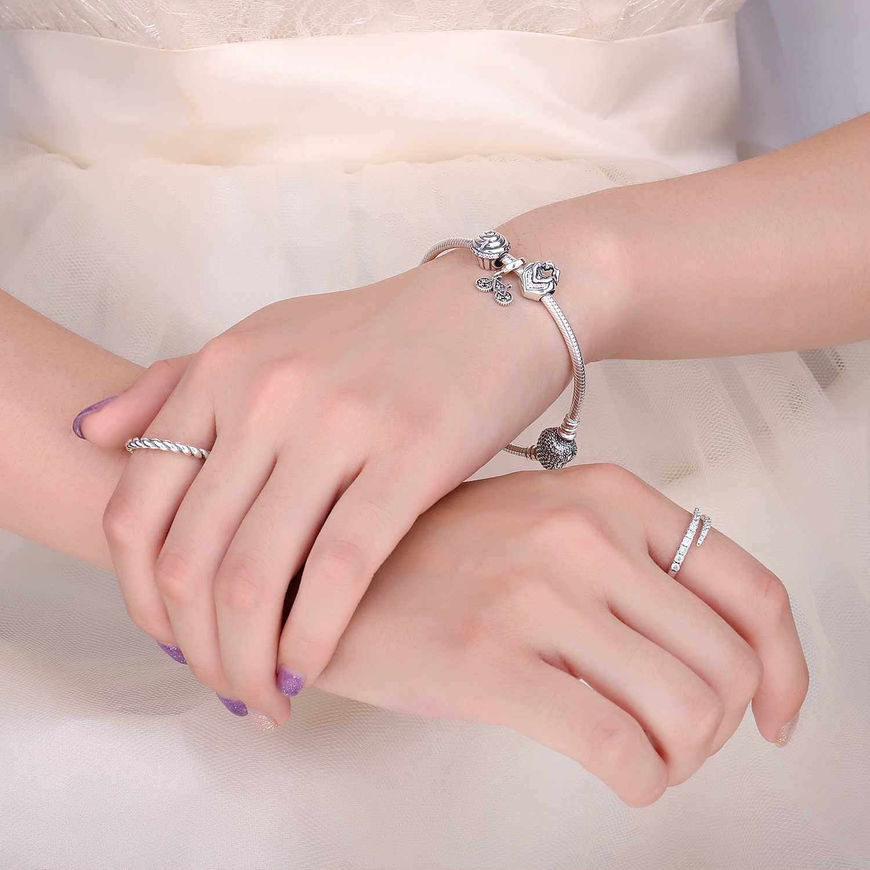 Jewelrypalace amor fiel 925 prata esterlina contas encantos prata 925 original para pulseira de prata 925 original jóias fazendo