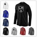 Cheap Los Angeles Kings  Long Sleeve T Shirts Big&Tall Logo Fashion Kings  Tees Shirt Cotton O-Neck T-shirt