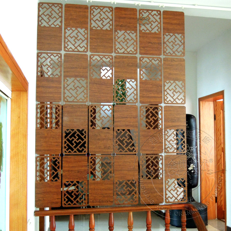 Carved Screen Room Hanging Screen Partition Photo Wall