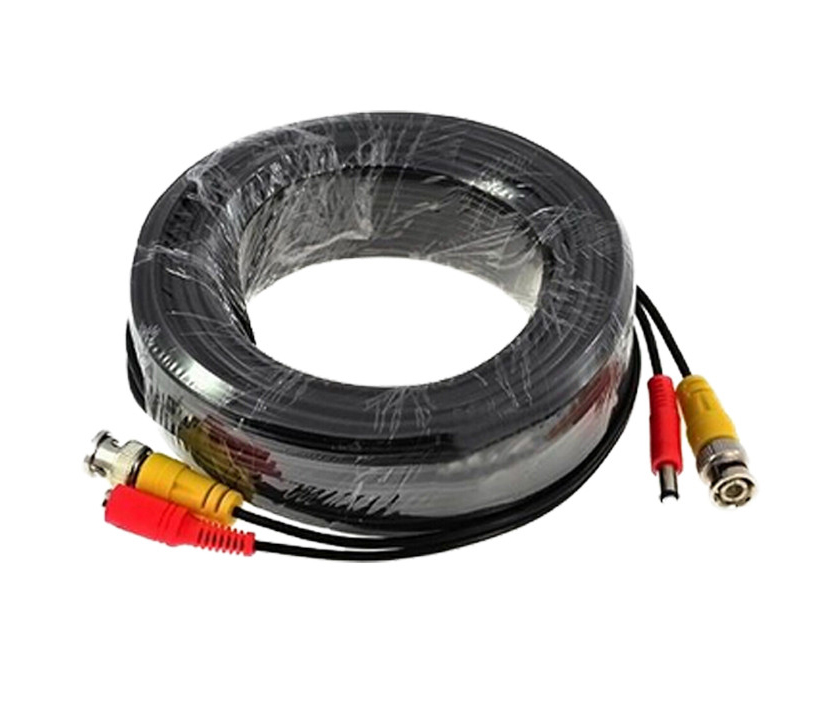 BNC Cable 5M/10M/18.3M/20M/30M/40M/50M Optional CCTV Cable Video Output DC Plug Cable for AHD/Analog BNC System DVR Kit усилитель головы bugera 6262 infinium