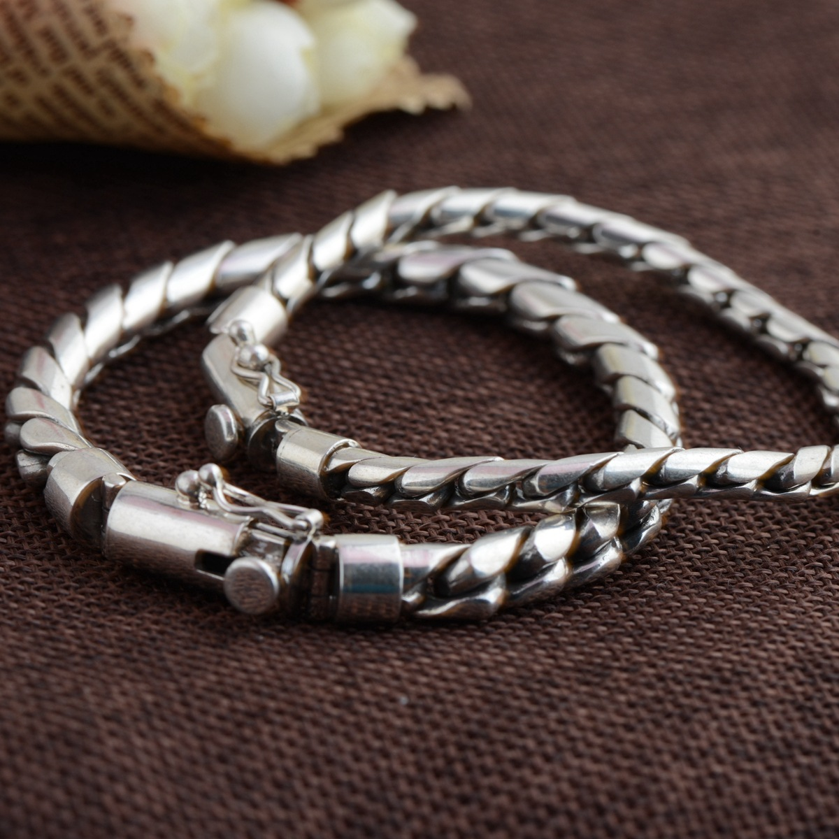 emperor wholesale jewelry line S925 silver bracelet with Thai silver male money process archaize style The new fashion 2018 new jewelry real pearl earrings s925 pure silver wholesale archaize process female present new products