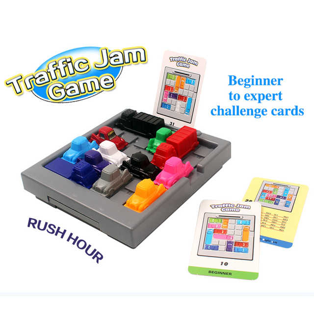 Finger Rock Traffic Jam Game Iq Slide 3d Puzzles Car Challenges