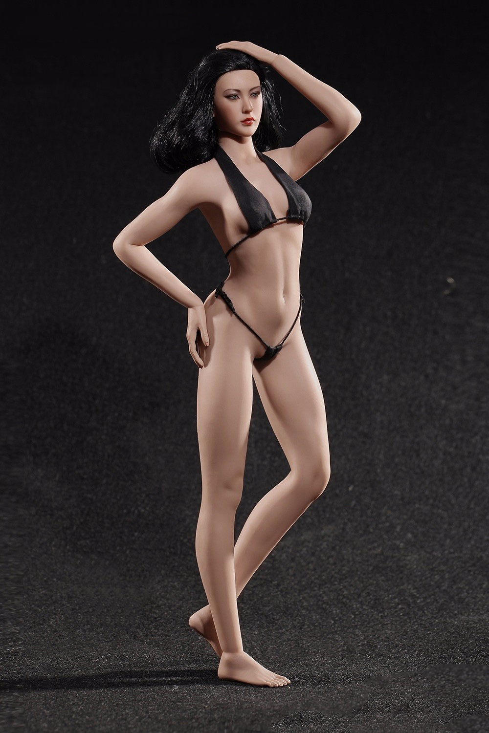 1/6 Scale Female Super Flexible Seamless Body Figure Medium Breast Suntan/Pale Doll Toys Without Head For PH Dolls 1 6 scale figure accessories doll female head for 12 action figure doll head shape fit phicne