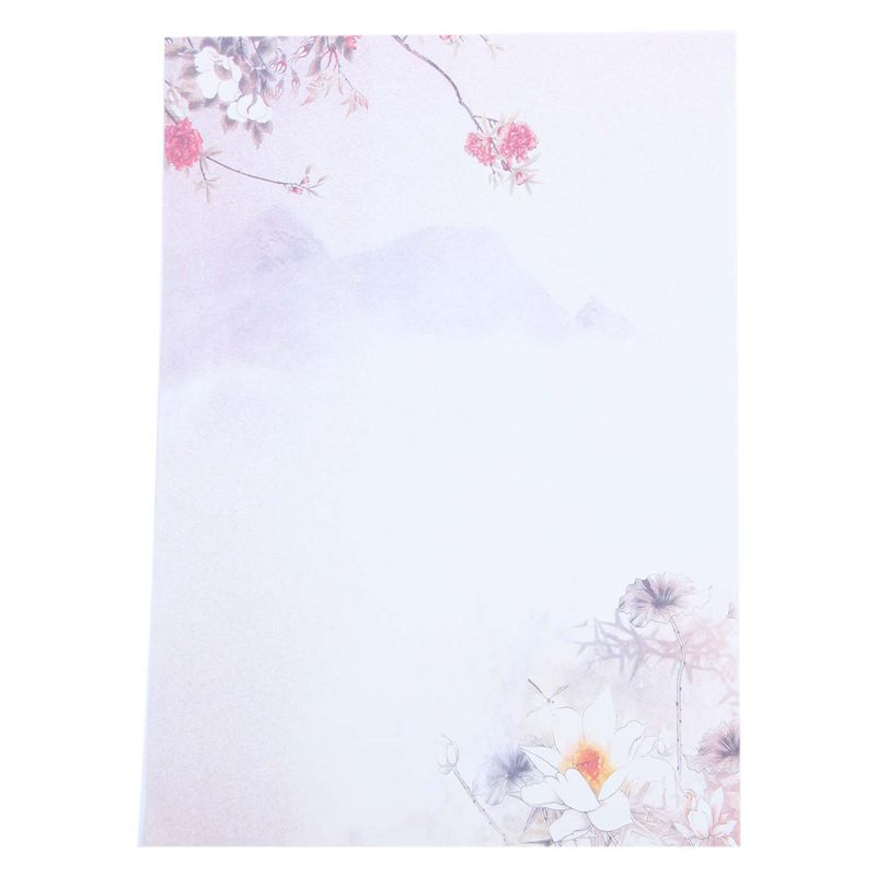 48 sheets Writing Stationery Paper, Letter Writing Paper Letter